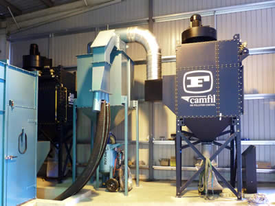 Camfil Farr Gold Series 174 Collection Systems Abss