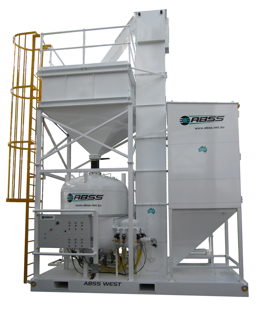 Bucket Elevator Systems Garnet Recovery Systems Abss
