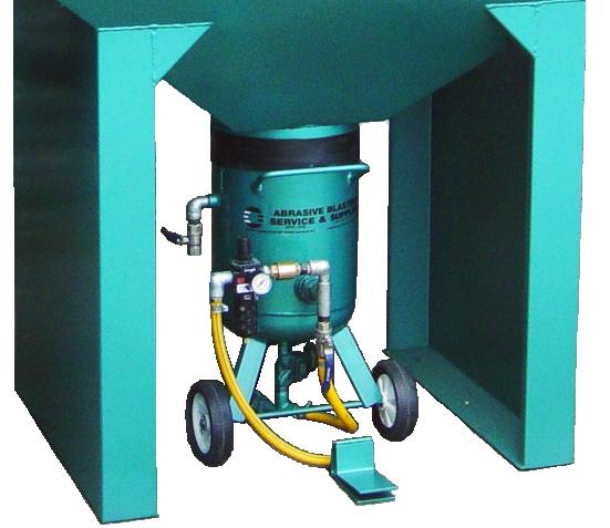 Sand Blast Cabinets (Pressure Blast) | ABSS