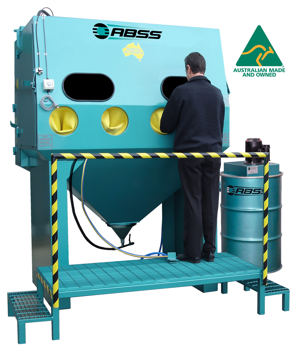 Suction Blast Model Cs1800 Suction Sandblast Cabinet
