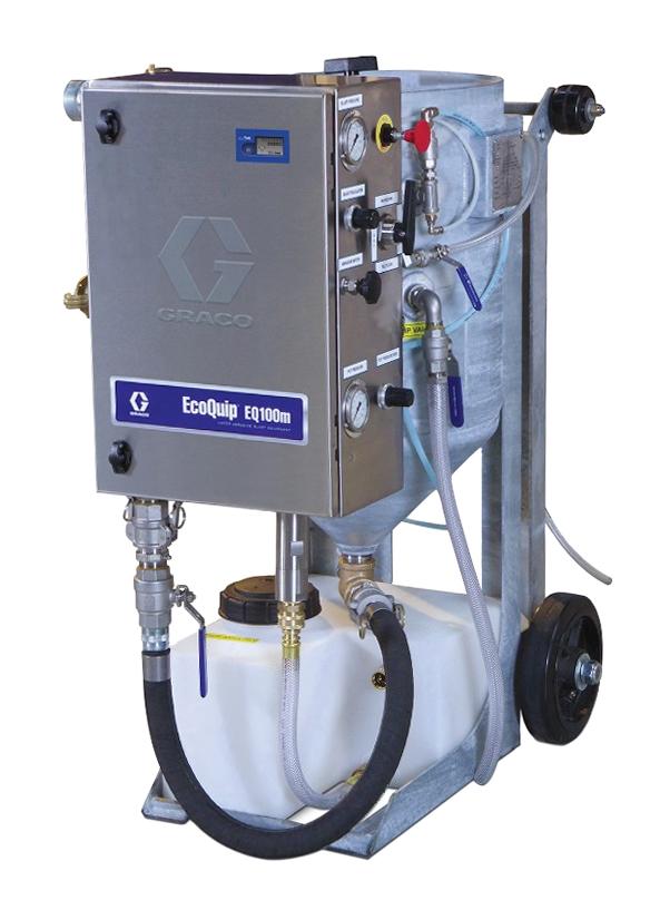 Mobile Air Compressor >> EQ100M - ECOQUIP VAPOR BLASTER