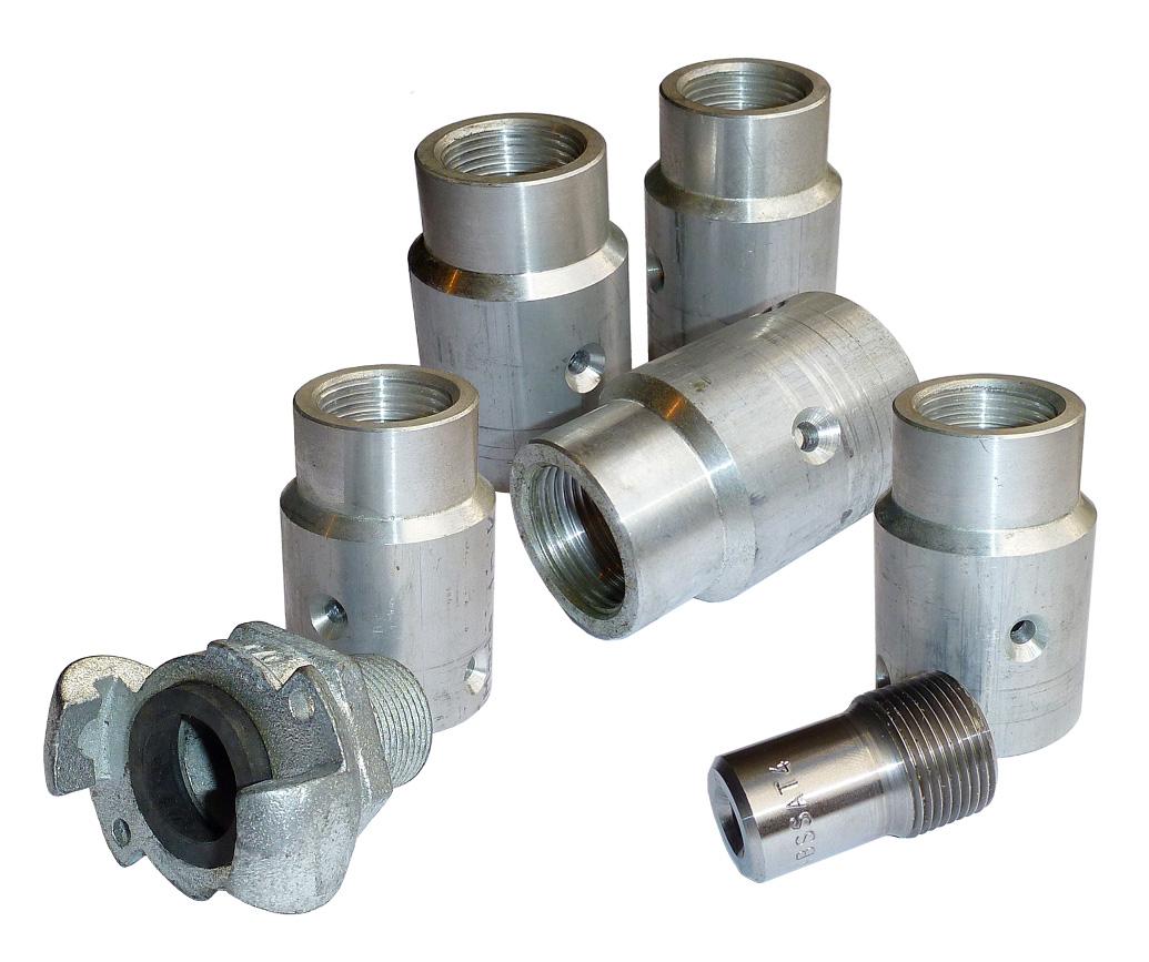Blast Cabinet Replacement Parts Aluminium Nozzle Holders